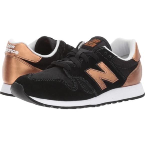 New Balance Shoes | New Balance 52 Black And Goldbronze Women 9 ...